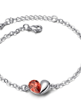 Bracciale Luxurious Luxurious Forma del Cuore Lega donne
