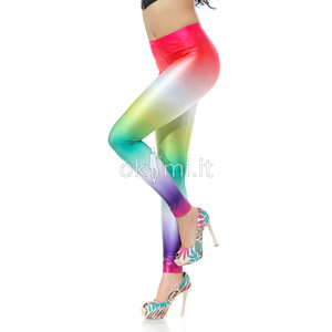 grande immagine 3 Leggings Candy-Color di Polyester in Spandex Carino