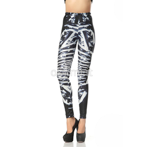 grande immagine 1 Leggings donna in Spandex Hip Hop in Polyester Opera d'arte